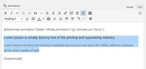 Як легко додати CSS анімацію в WordPress