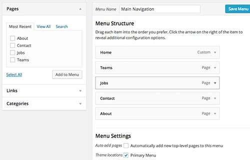Як додати іконки в меню сайту на WordPress