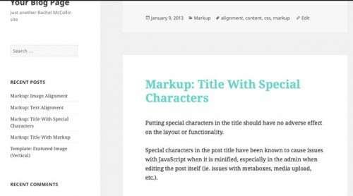 Стилізуємо запису за категоріями на головній сторінці блогу