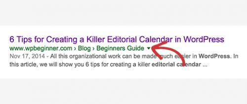 Як на WordPress вивести «хлібні крихти»