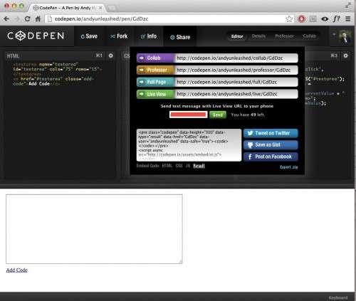 Керівництво по використанню CodePen: допоможіть нам, і ми допоможемо вам