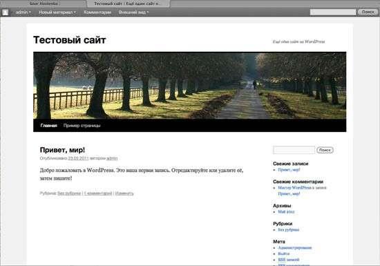 Створюємо сайт на WordPress за 5 хвилин!