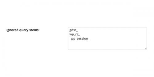 Налаштування W3 Total Cache: додаткова настройка кешування бази даних