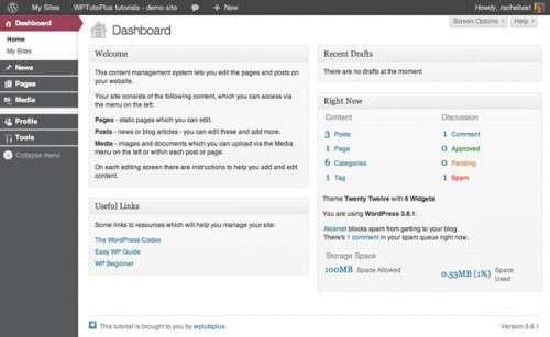 Налаштовуємо панель адміністрування WordPress – змінюємо стиль елементів