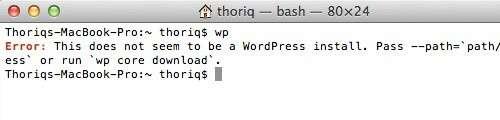 Встановлюємо WordPress за допомогою командного рядка