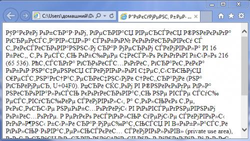 Кодування UTF – основний стандарт тексту в інтернеті
