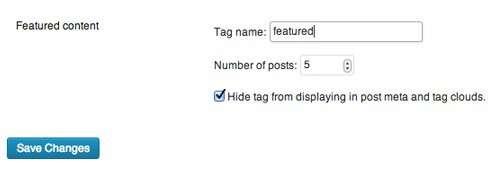 Як настроїти панель «Вибрані матеріали» в WordPress
