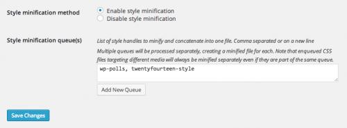 Управління CSS/JS, які завантажують плагіни WordPress