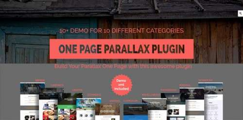 15 кращих паралакс-плагінів для WordPress