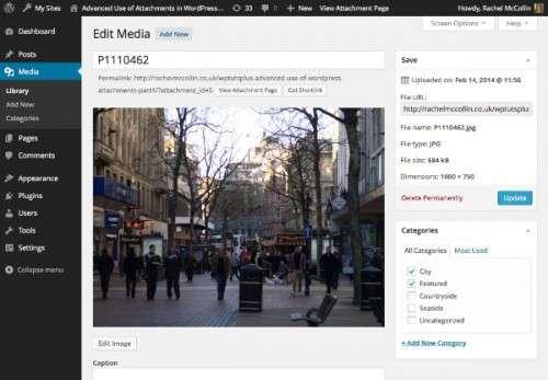 Розширене використання вкладень WordPress: Створення спеціального зображення для категорії