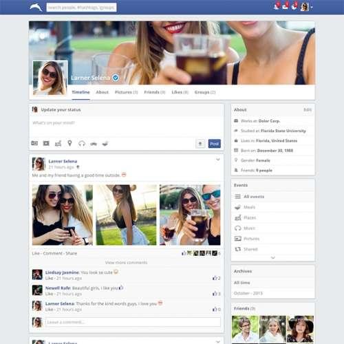Скрипти для створення соціальної мережі