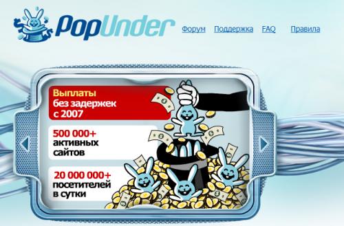 Попандер-реклама – ключ до високої прибутковості сайту