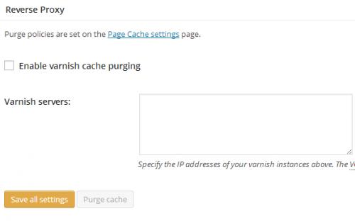 Налаштування W3 Total Cache - загальні установки (частина 2)