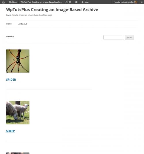 Створення сторінки архіву на основі зображень: початок роботи