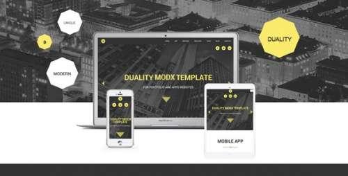 Свіжі шаблони MODX CMS для розробників