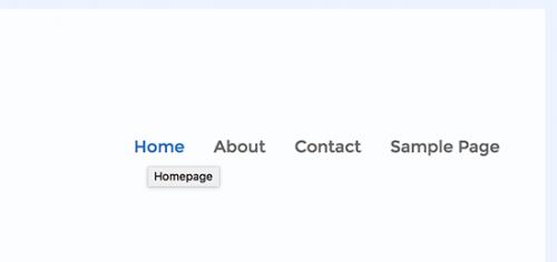 Як додати атрибут title до навігаційне меню WordPress