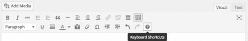 Повний довідник по використанню клавіатури в WordPress