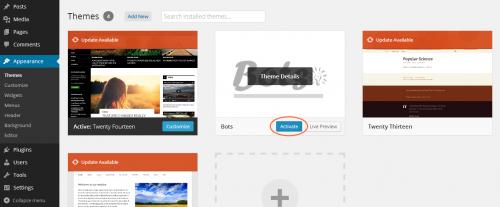 Як створити просту сторінку налаштувань теми WordPress